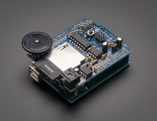 ����� ���������� Wave Shield for Arduino Kit - v1.1