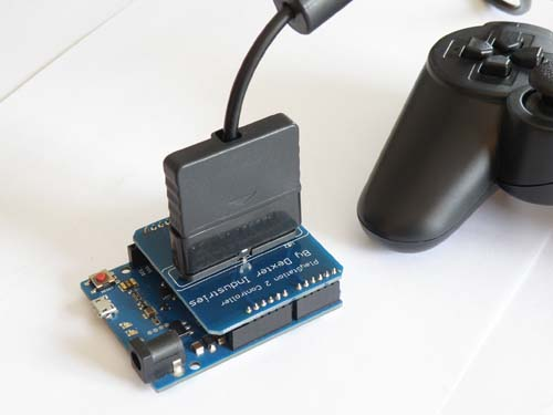 Платы расширения Arduino Playstation DualShock Shield