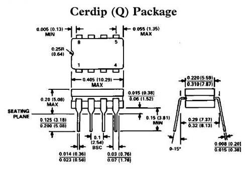 Цена LM158JG