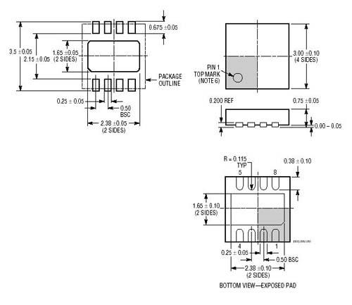 STMicroelectronics Операционный усилитель TS4962IQT