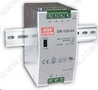 Mean Well Источник питания на DIN рейку DR-120-24