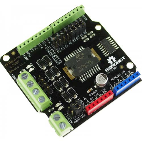 ���������� ������������� ��������������� 2A Motor Shield For Arduino
