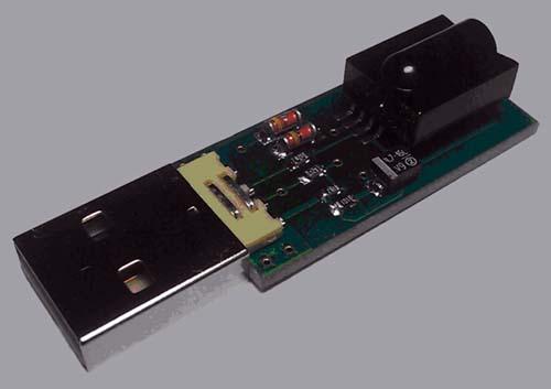 Ик-приемник usb для компьютера своими руками
