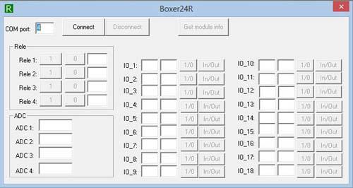 Модуль MP714. Управление нагрузкой и контроль через USB