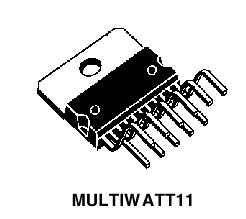 STMicroelectronics УМЗЧ TDA2004