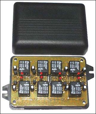 Программируемый 8-канальный исполнительный блок. Набор NK150