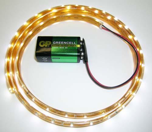 Светодиодная лента на батарейках