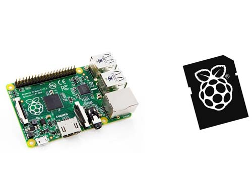 ��������������� Raspberry Pi Raspberry Pi model B + [512Mb] & SD Card 8GB NOOBS