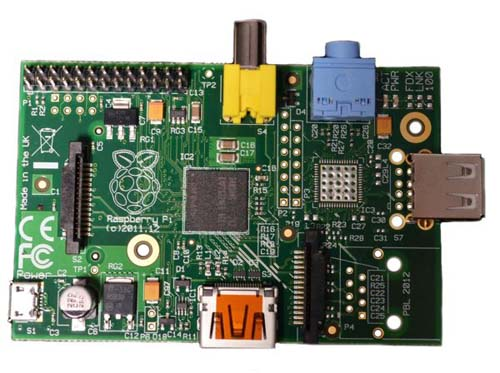 ��������������  � ���������� � ��� Raspberry Pi Model A 256Mb