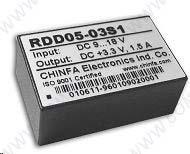 DC-DC модульный преобразователь RDD05-15D2