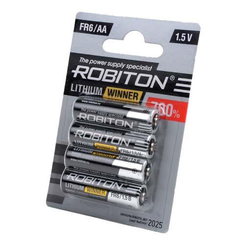 Стандартный элемент питания BAT [AA] ROBITON WINNER R-FR6-BL4