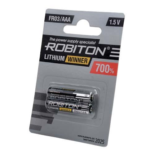 Стандартный элемент питания BAT [AAA] ROBITON WINNER R-FR03-BL2