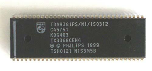 NXP Мультимедиа преобразователь TDA9381PS/N2/3/0458