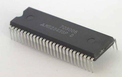 NXP Мультимедиа преобразователь SAA5543PS/M4