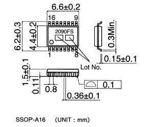Rohm Мультимедиа преобразователь BA6845FS