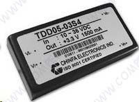 DC-DC модульный преобразователь TDD05-05S4