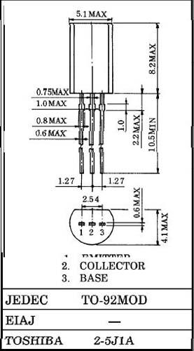 Hitachi Транзистор биполярный стандартный 2SD468