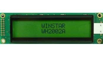LCD дисплей WH2002A-TMI-CT