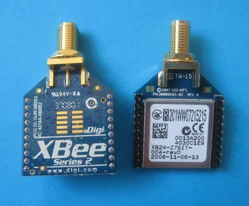 Digi ZigBee приемо-передатчик XB24-Z7SIT-004
