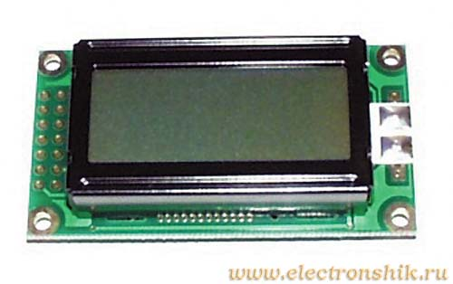LCD дисплей WH0802A-NGG-CT