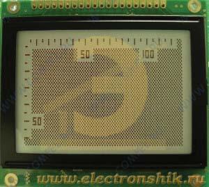 LCD дисплей WG12864A-YYK-TN