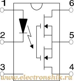 International Rectifier Реле твердотельное PVT312SPBF