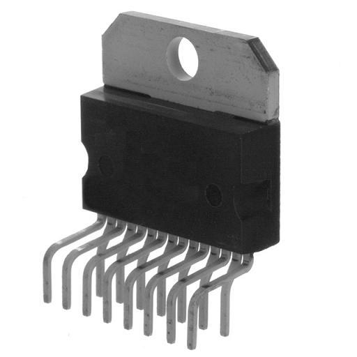 Микросхема TDA8560Q демонтаж