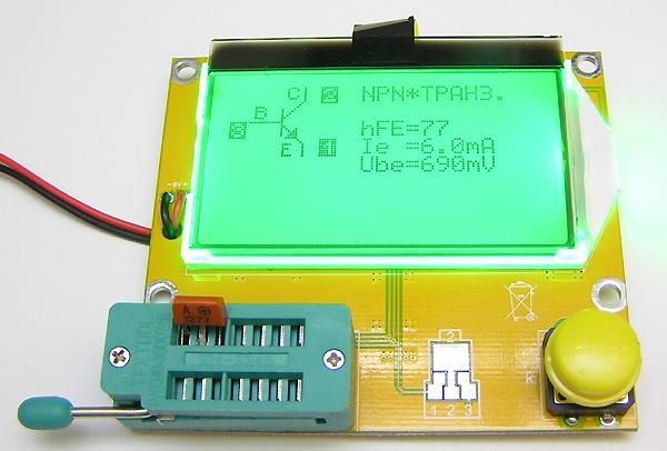 Транзистор Тестер М2 Инструкция - фото 2