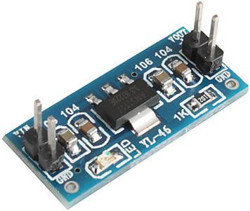 Модуль RP006. Линейный стабилизатор напряжения 3, 3 В ; 0, 8 А на микросхеме AMS1117-3.3 (4, 5...7 В)