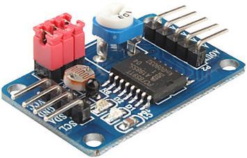 Модуль RI003. Модуль АЦП/ЦАП на микросхеме PCF8591