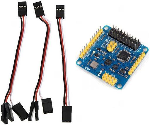Комплект поставки полётного контроллера CRIUS MWC MultiWii SE v2.5 для БПЛА