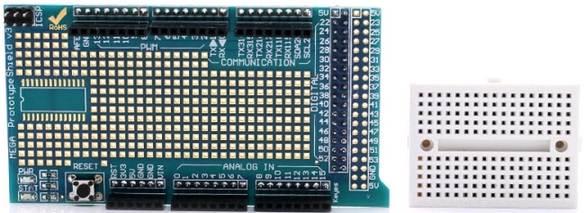 Модуль RC040. Платы расширения прототипирования для MEGA 2560/1280
