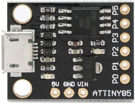 Модуль RC048. Модуль МК на ATtiny85