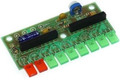 Радиоконструктор RL138. Светодиодный уровень сигнала