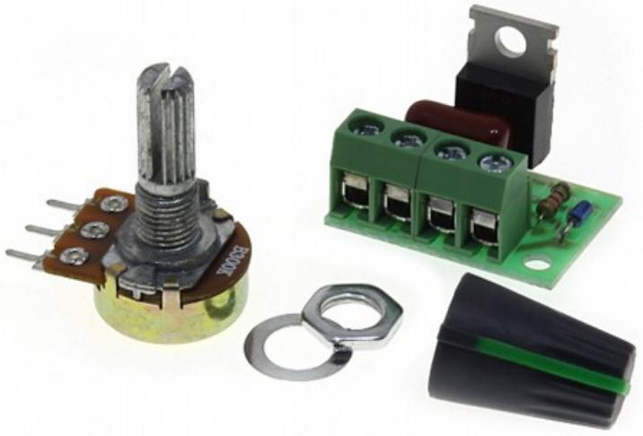 Регулятор мощности 1кВт 220В. Радиоконструктор RP216.3M