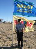 Известный казахстанский радиолюбитель В.Михин в радиолюбительской экспедиции UP50SAT с участием интернет-магазина DESSY