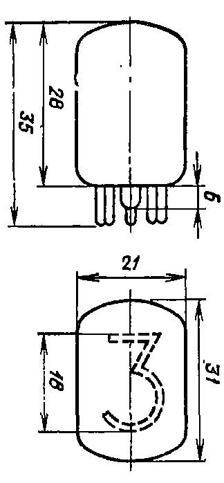 Газоразрядный индикатор ИН-12А