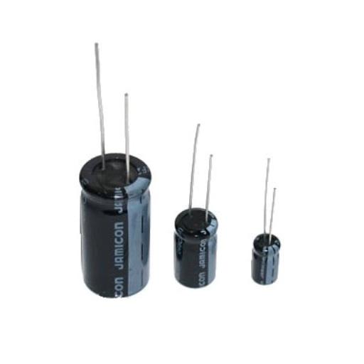 Конденсатор электролитический 100 мкФ 10 Вольт 0511