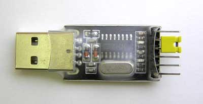 USB - COM (TTL) Переходник (RS232) CH340G-1