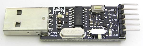 Модуль RC002. Переходник USB в COM-порт TTL/CMOS (RS232)