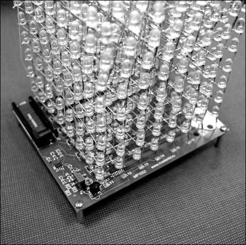 светодиодного куба 8х8х8.