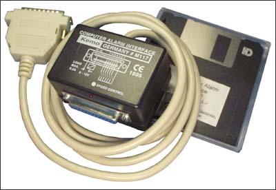 Модуль управления охранными системами. Набор MK286