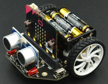 MICRO:BIT. «Микрик» Робот на основе Micro:bit (микробит)