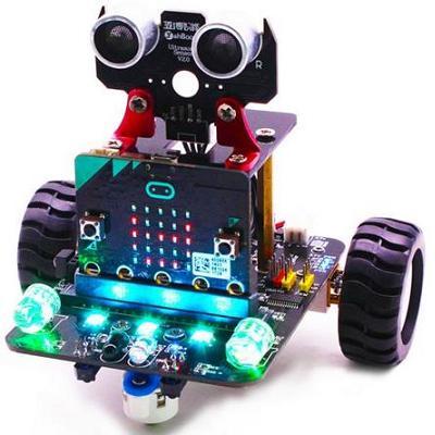 MICRO:BIT. «БитБот» Робот на основе Micro:bit (микробит)