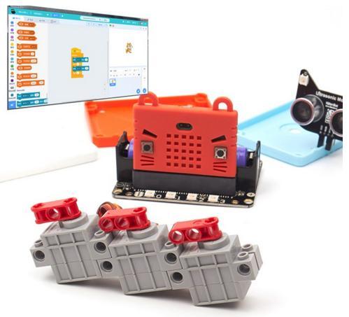 ROBOT:BIT. Мотор к плате «РоботБит» для Micro:bit (LEGO-совместимый)