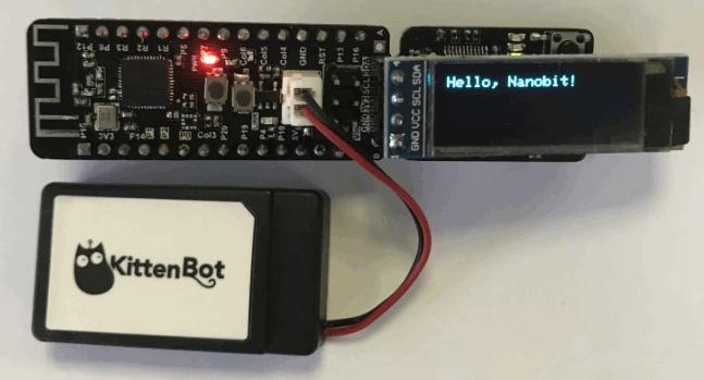 NANO:BIT. Контроллер микробит в формате arduino nano