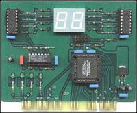 Набор NM9221: Устройство для ремонта и тестирования компьютеров - POST Card PCI