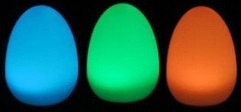 JW-6805A. Светодиодный ночник в форме яйца