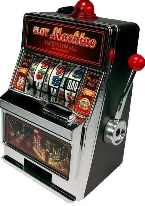 GM395. Копилка — игровой автомат «Однорукий бандит»