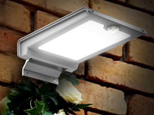 GT-SL101. LED-светильник на солнечной батарее.